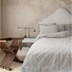 Постельное белье Washed cotton Shint beige бежевый BARINE