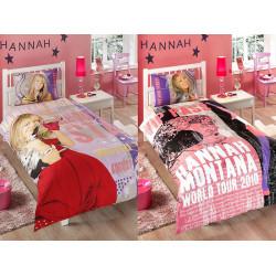 Постельное белье на резинке Hannah Montana Star Ранфорс ДИCНЕЙ TAC