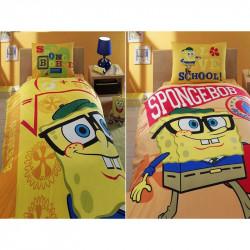 Постельное белье на резинке Sponge Bob Academics Ранфорс ДИCНЕЙ TAC