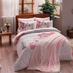 Набор постельного белья Armina V02 Розовый TAC