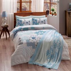 Набор постельного белья Armina V04 Синий TAC