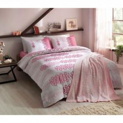Набор постельного белья Despina V02 Pembe TAC