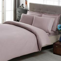 Постельное белье Stripe лиловый Premium Basic TAC