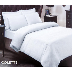 Постельное белье Colette белый жаккард TAC