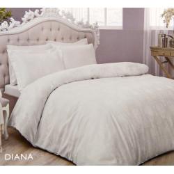 Постельное белье Diana серый жаккард TAC