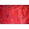 Постельное белье Сатин Delux Mauna kirmizi красное TAC