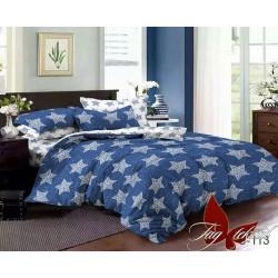 Комплект постельного белья с компаньоном S-113 Сатин TAG