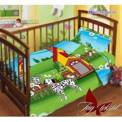 Постельное белье в кроватку Далматинцы TAG