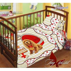 Постельное белье в кроватку Дружок TAG