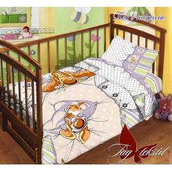 Постельное белье в кроватку Пес в пижаме TAG