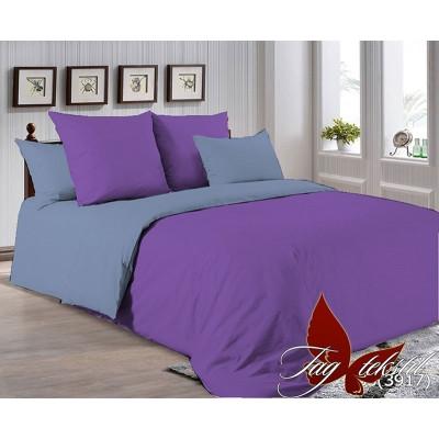 Однотонное постельное белье P-3633(3917) Поплин TAG