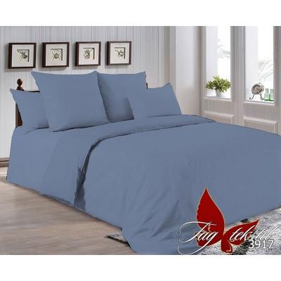 Однотонное постельное белье P-3917 Поплин TAG