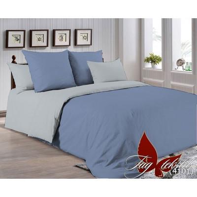 Однотонное постельное белье P-3917(4101) Поплин TAG