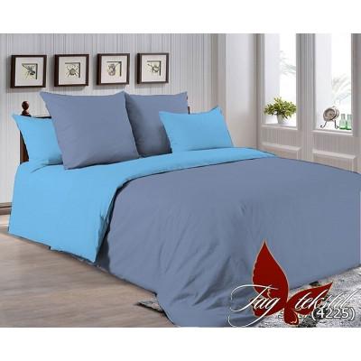 Однотонное постельное белье P-3917(4225) Поплин TAG