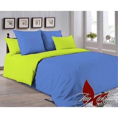 Однотонное постельное белье P-4037(0550) Поплин TAG