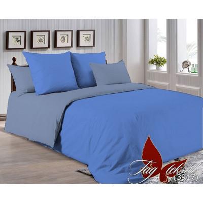 Однотонное постельное белье P-4037(3917) Поплин TAG