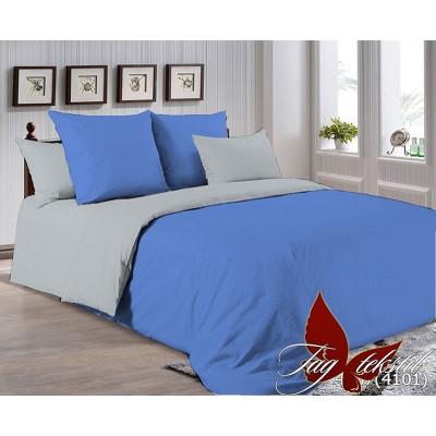 Однотонное постельное белье P-4037(4101) Поплин TAG