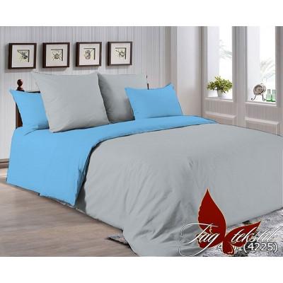 Однотонное постельное белье P-4101(4225) Поплин TAG