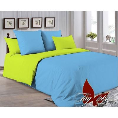 Однотонное постельное белье P-4225(0550) Поплин TAG