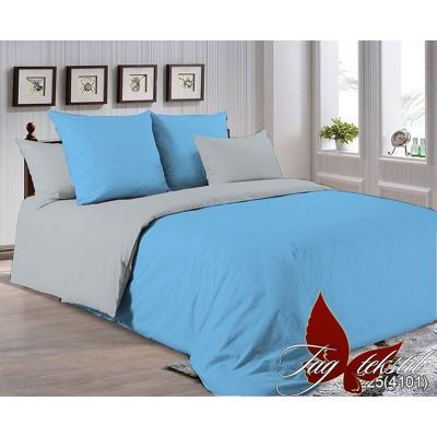 Однотонное постельное белье P-4225(4101) Поплин TAG