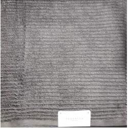 Полотенце махровое Kassatex Серое TAG