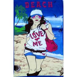 Полотенце пляжное Women TAG