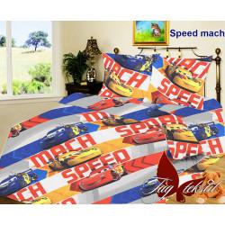 Подростковое постельное белье Speed mach Ранфорс TAG