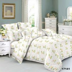 Детское постельное белье 17141 Ранфорс зеленое ВИЛЮТА
