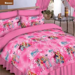 Подростковое постельное белье 6232 Ранфорс Винкс ВИЛЮТА