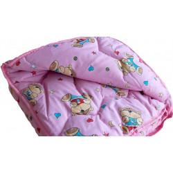 Детское одеяло шерстяное стеганное Ранфорс ВИЛЮТА