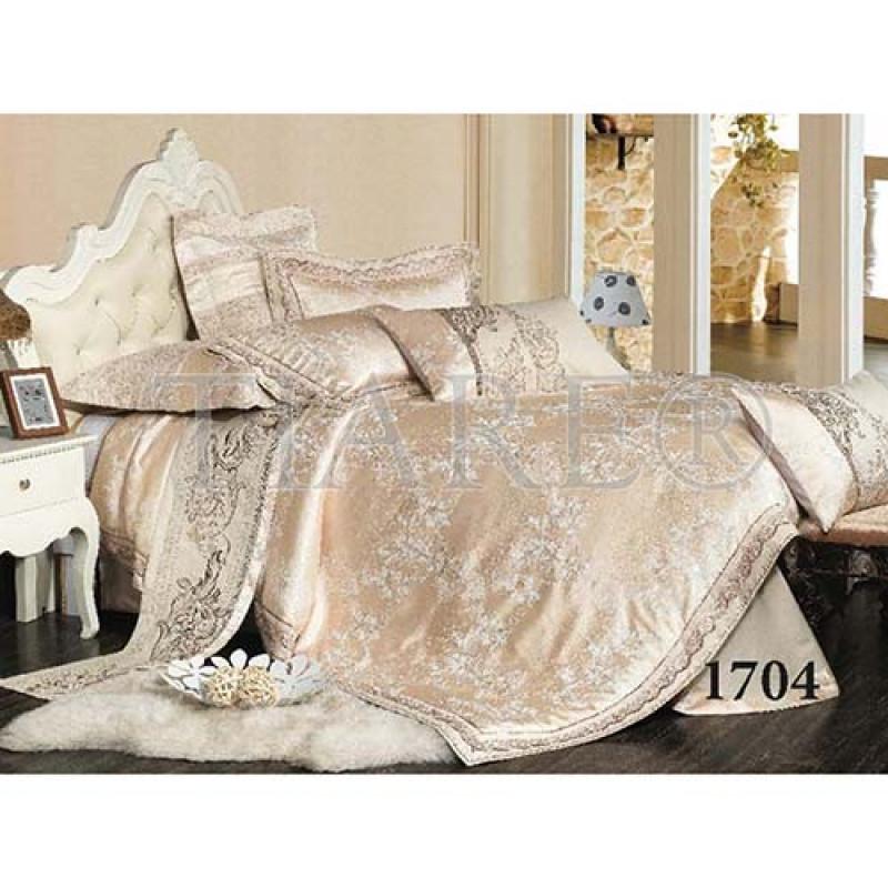 Комплект постельного белья Сатин TIARE жаккард 1704 ВИЛЮТА 50334570aacdd