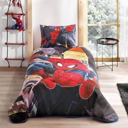 Покрывало с наволочкой Disney Spiderman In City TAC