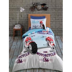 Подростковое постельное белье ранфорс Racing Zugo Home