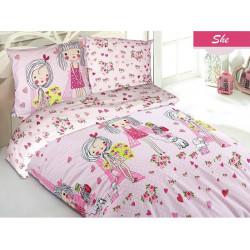 Подростковое постельное белье ранфорс She Zugo Home