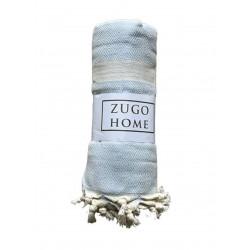 Покрывало пештемаль Zugo Home Elmas голубой Zugo Home