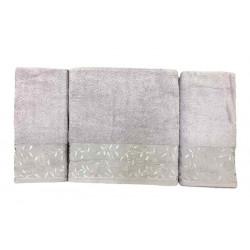 Набор махровых полотенец For You лиловый Gold Soft Life