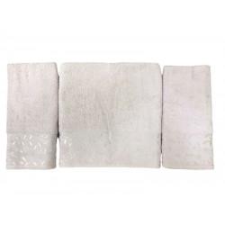 Набор махровых полотенец For You пудровый Gold Soft Life