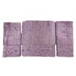 Набор махровых полотенец For You фиолетовый Gold Soft Life