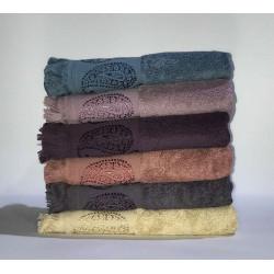Набор махровых полотенец жаккард Buta Miss Cotton