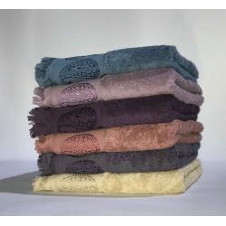 Набор махровых полотенец жаккард Вензель Miss Cotton