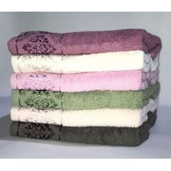 Набор махровых полотенец хлопок Damask Miss Cotton