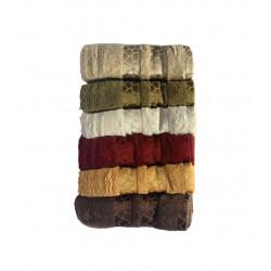 Набор махровых полотенец Bamboo Tasli Soft Sikel