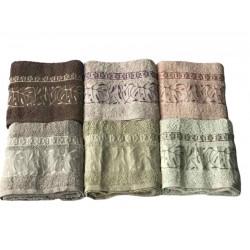 Набор махровых полотенец Cotton Hazan Sikel