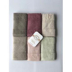 Набор махровых полотенец Cotton Ribella Sikel