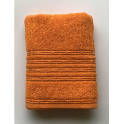 Полотенеце махровое Cotton Deniz оранжевый Gold Soft Life