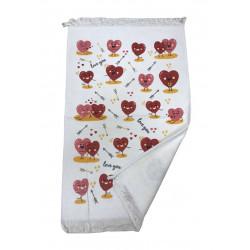 Кухонное полотенце Сердца MELIH