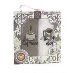 Набор кухонных полотенец Coffee Series V01 NILTEKS