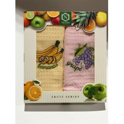 Набор кухонных полотенец Fruit Series V01 NILTEKS
