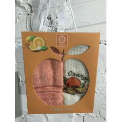 Набор вафельные полотенец Orange Series NILTEKS