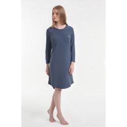 Ночная рубашка Y2019AW0052 синяя Yoors Star